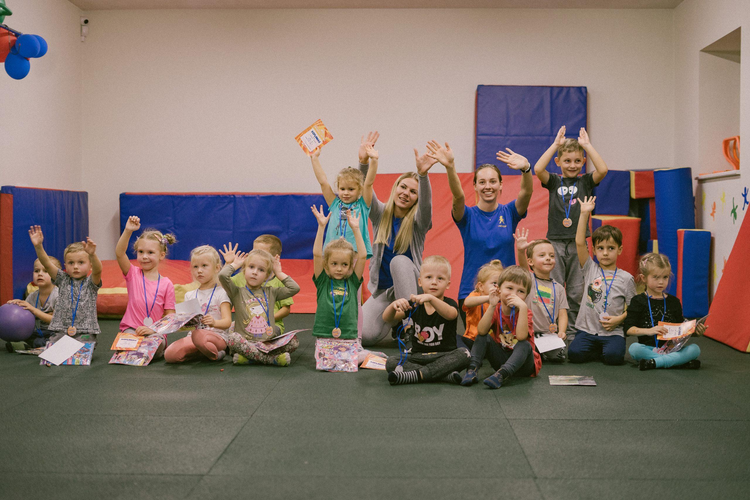Strakaliukas uzsiemimai vaikams vaiku sporto centras sportas vaikams 5