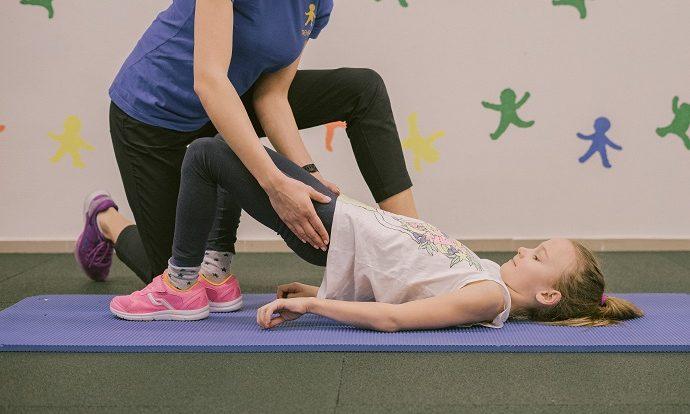Uzsiemimai vaikams, asmeniniais, teipavimas, kineziterapija Strakaliukas vaiku sporto centras